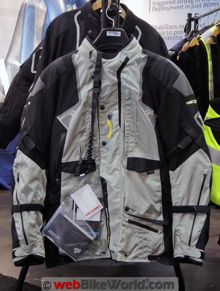 Helite Adventure Jacket Close-up