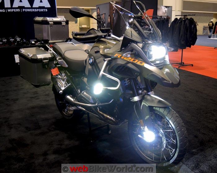 PIAA LED Lights on BMW R1200GS