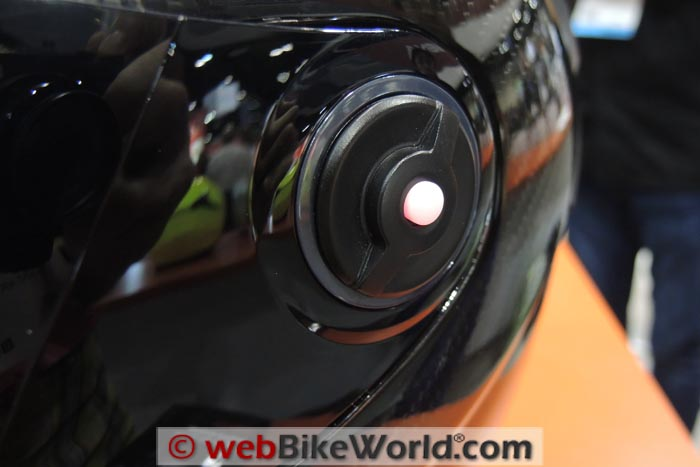 Sena Smart Helmet External Button