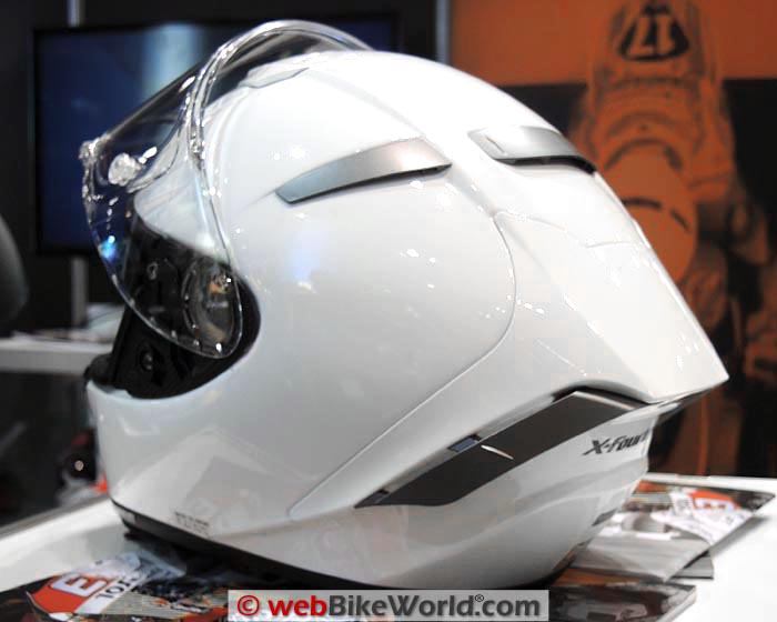 Shoei X-Fourteen Helmet Rear Spoiler