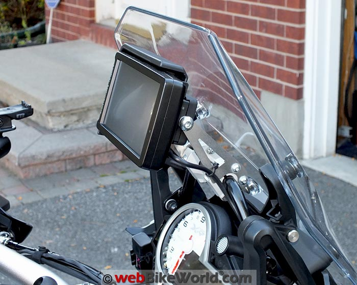 Touratech GPS Extension Bracket