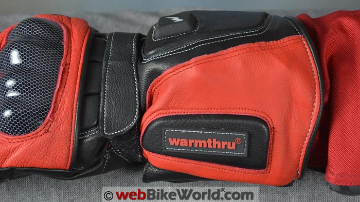 Warmthru Heated Motorcycle Gloves Gauntlet