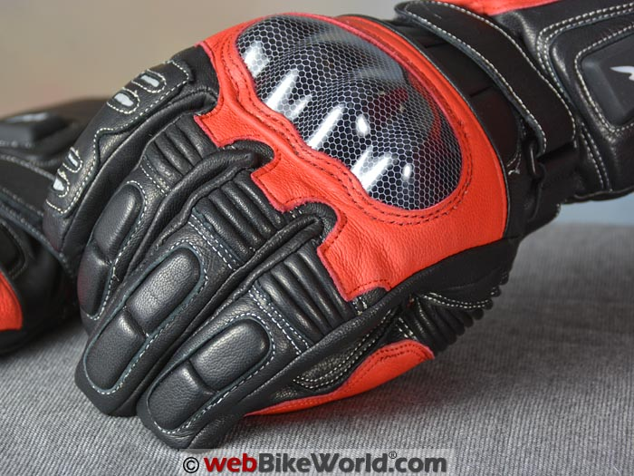 Warmthru Heated Motorcycle Gloves Knuckle Protector