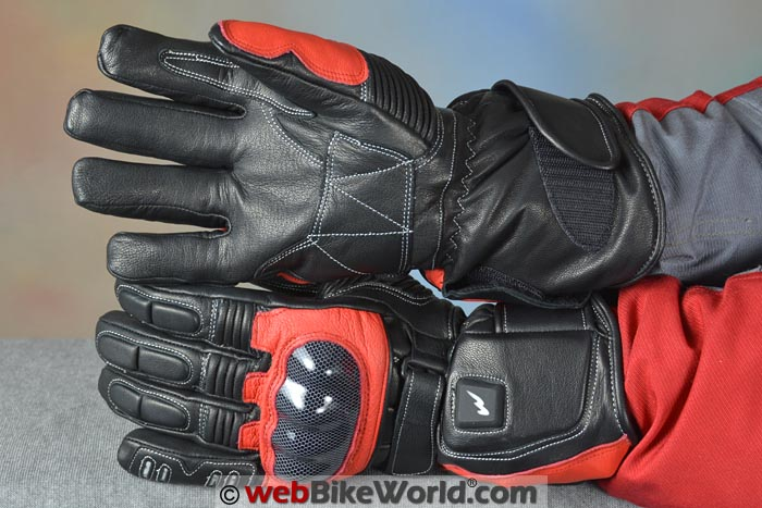 Warmthru Heated Motorcycle Gloves