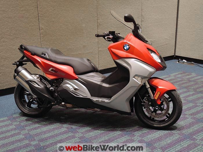 of motorrad scooters future the bmw made premiere by concept c