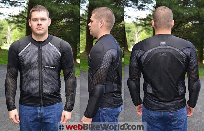 Bohn Bodyguard Airtex Armored Shirt