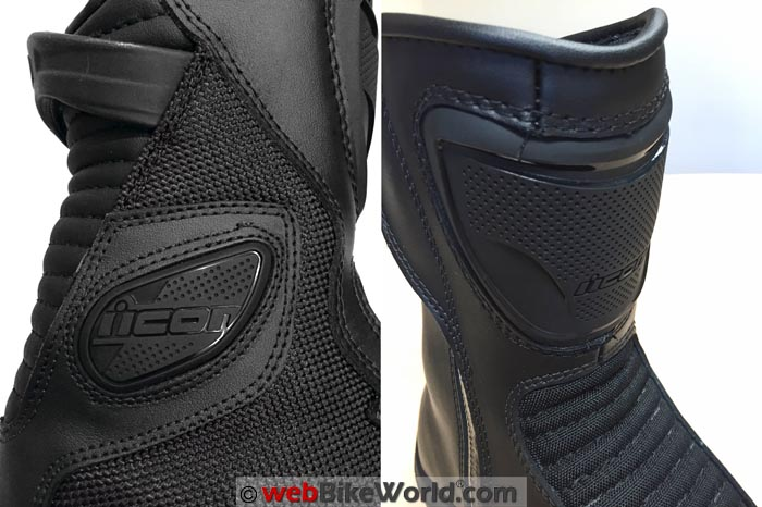 Icon Reign Boots Protective Details