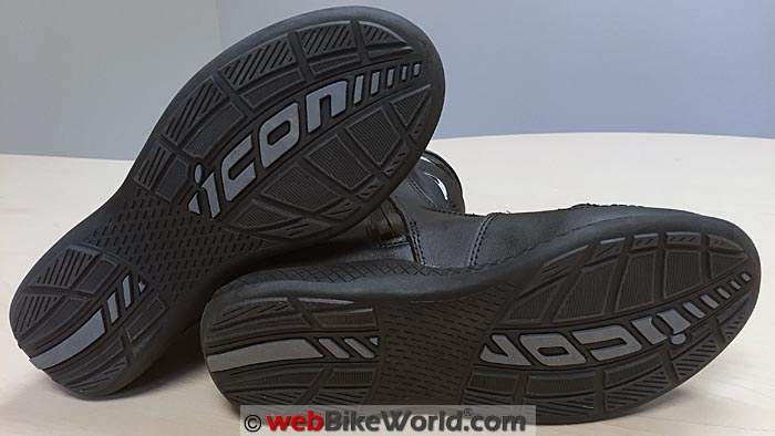 Icon Reign Boots Soles