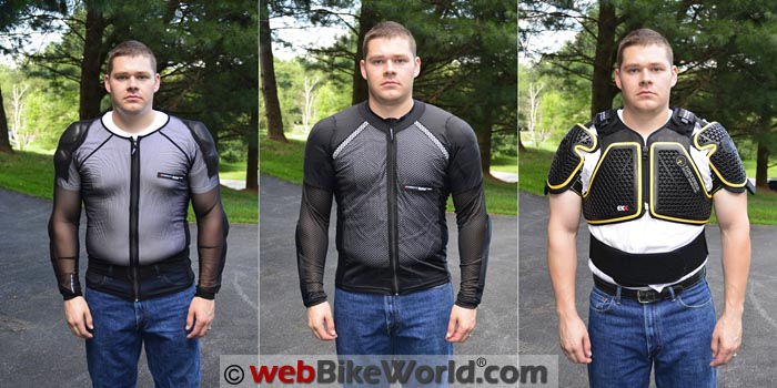 Motorcycle Armored Undershirts