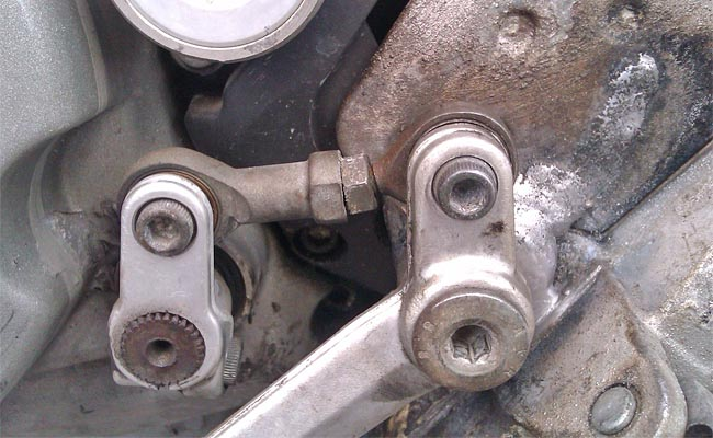 Ducati Multistrada Broken Shift Lever