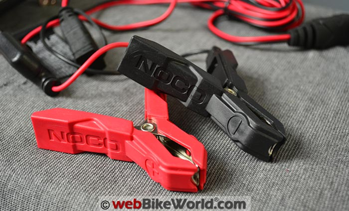 Noco Genius G750 Battery Terminal Clamps