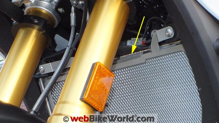 R&G Radiator Guard Gap