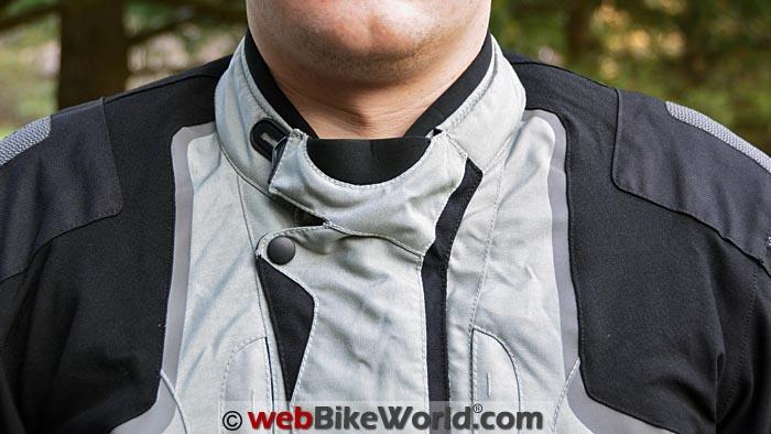 Helite Adventure Airbag Jacket Collar