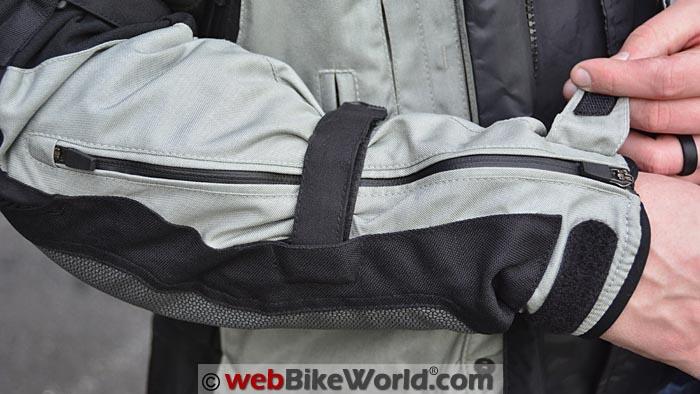 Helite Adventure Airbag Jacket Sleeve Cuff