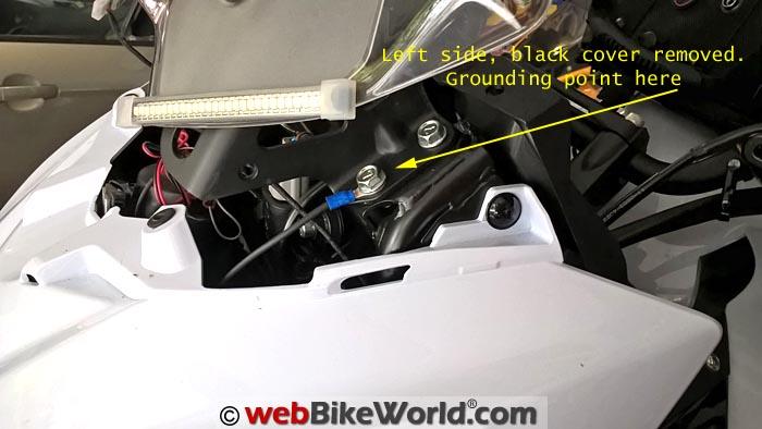 Kawasaki Versys Grounding Point