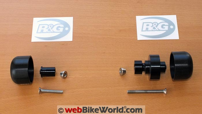 R&G Swingarm Slider Kit
