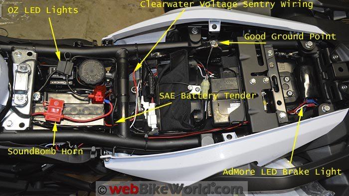 Under Seat Wiring