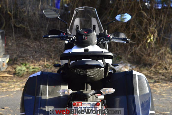 SHAD SH39 Luggage Rack Rear View