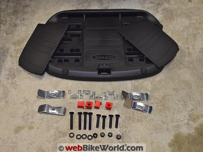 SHAD SH39 Top Case Base Kit Parts