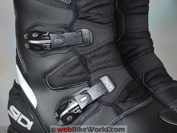 Sidi Deep Rain Boots Buckles Close-up