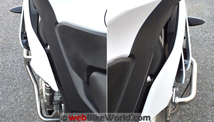 BMW Engine Guards Left and Right Side Top View