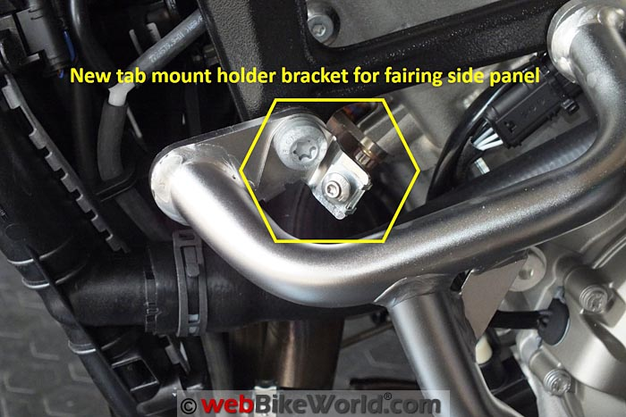 BMW Engine Guards Left Side Bracket Mount