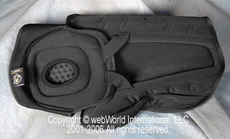 Icon Field Armor, inside view of leg armor or shin armor