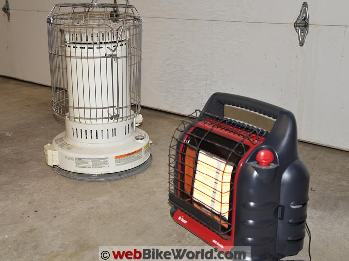 Kerosene Heater vs. Big Buddy