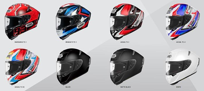 Shoei X-Fourteen Colors