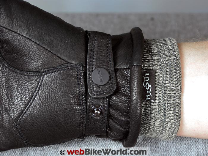 Spidi Avant Garde Gloves Wrist Strap