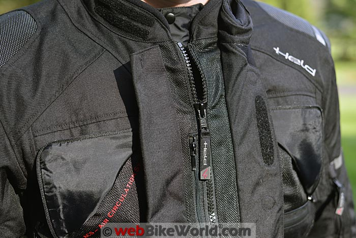 Held Carese 2 Jacket Front Flap Open