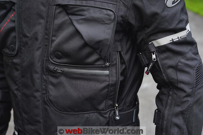 Held Carese 2 Jacket Front Pocket and Vent