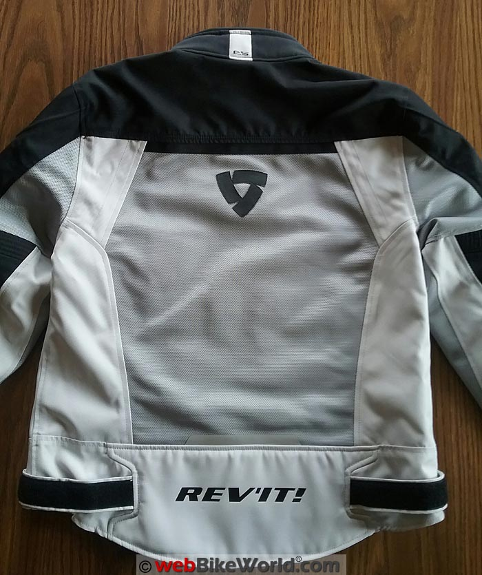 REV'IT! Airwave 2 Jacket Rear Mesh