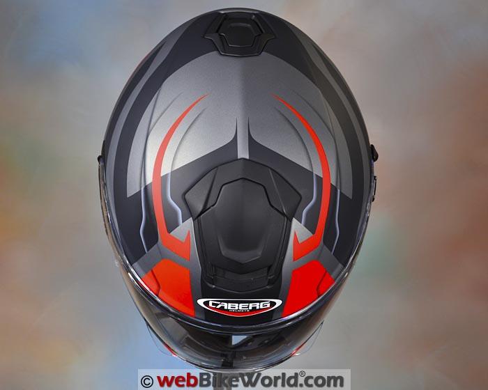 Caberg Drift Helmet Top View