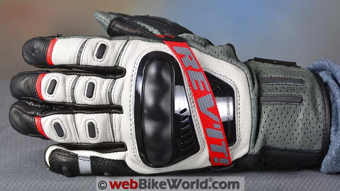 REV'IT! Cayenne Pro Gloves Top View