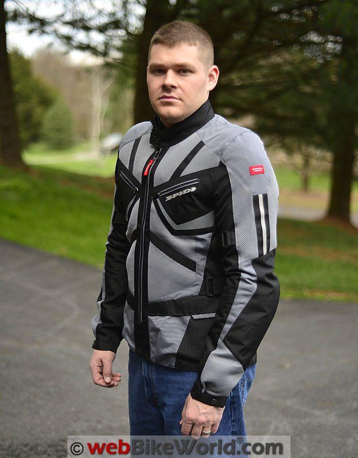 Spidi Ventamax Jacket Front Quarter View