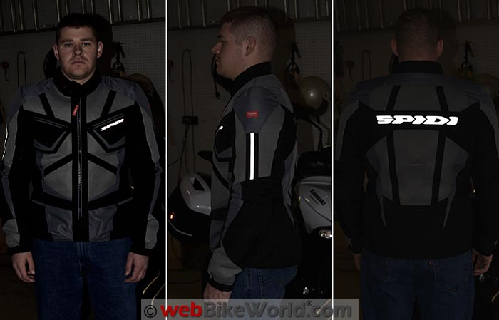 Spidi Ventamax Jacket Reflectivity