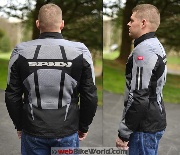 Spidi Ventamax Jacket Side Rear Views