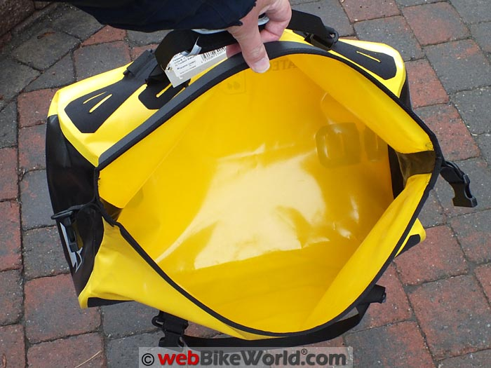 Touratech Adventure Dry Bag Capacity