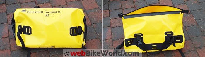 Touratech Adventure Dry Bag Front Rear Views