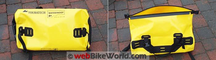 Touratech Adventure Dry Bag Front Rear Views