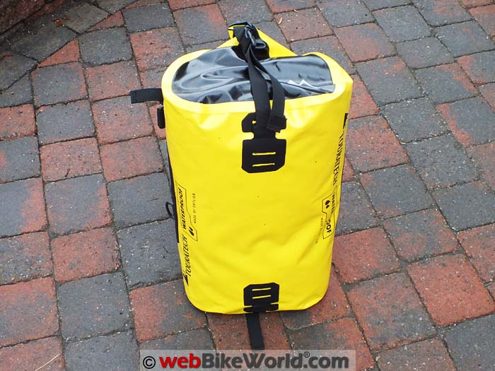 Touratech Adventure Dry Bag Height