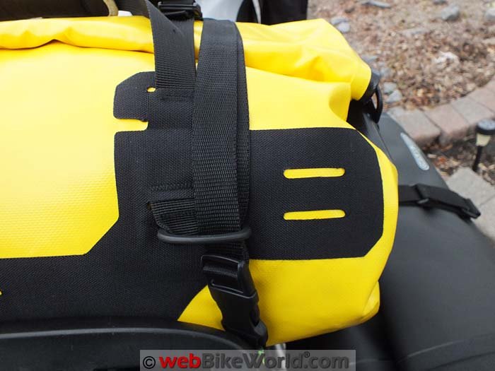 Touratech Adventure Dry Bag Strap Location