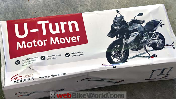 Acebikes U-Turn Motor Mover Box