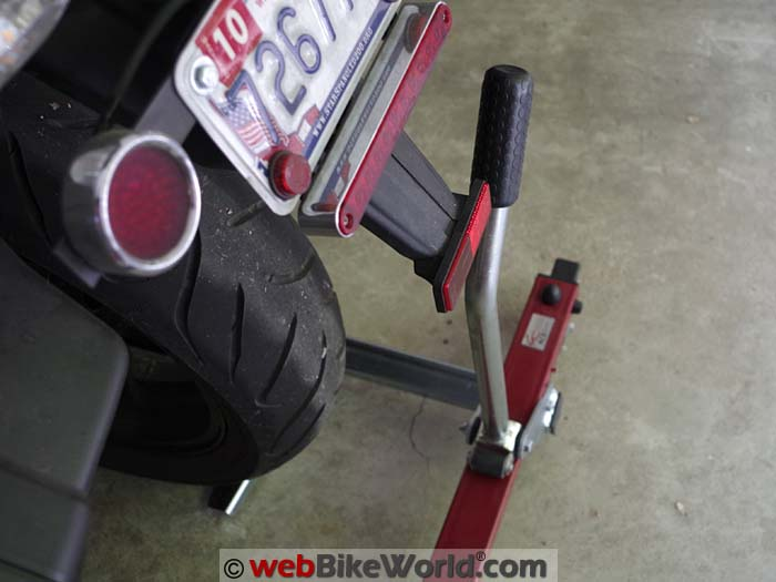Acebikes U-Turn Motor Mover Handle Clearance