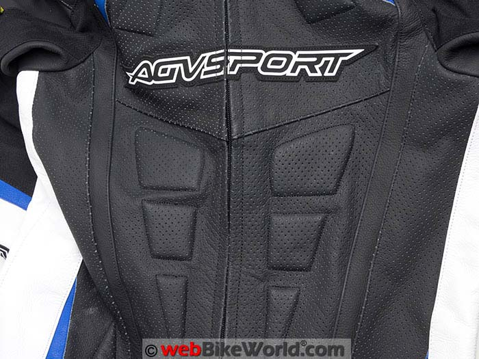 AGV Sport Podium Suit Chest Perforations