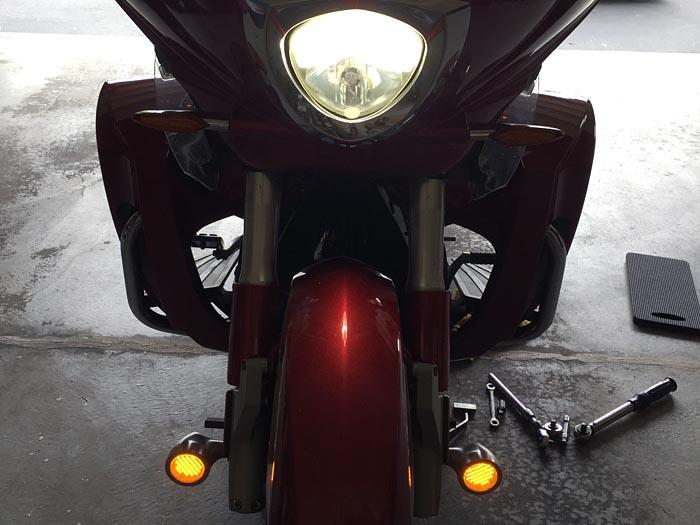 MR16 Amber LED