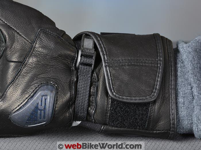 REV'IT! Summit 2 H2O Gloves Wrist Strap Secured