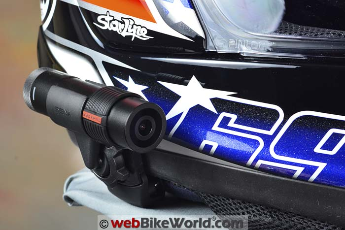 Sena Tube on Arai Helmet