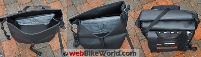 Touratech Moto Saddle Bags Inside Views